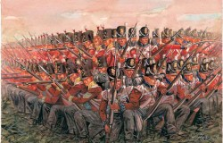 NAPOLEONIC WARS - British INFANTRY 1815 1/72
