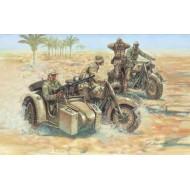 German MOTORCYCLES 2ND WW (16 fig+4MC) 1/72