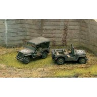 WILLYS JEEP 2 mod. 1/72 SNAP