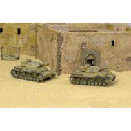 SD. KFZ. 161 PZ. KPFW. IV F1 2 tanks included 1/72 SNAP