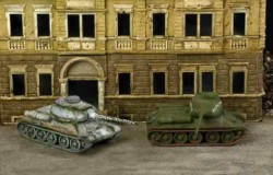 T-34/85 RUSSIAN TANK 2 pcs. 1/72 SNAP