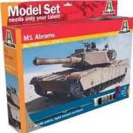 MODEL SET: M1 Abrams 1/72