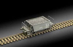 VCFF HOPPER CAR  1/87  (H0)