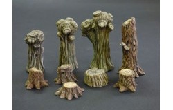 Willows and stumps 1/35