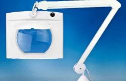 Rectangular Long Reach Magnifier Lamp
