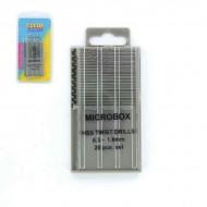 MICROBOX DRILL SET (20) 0.3-1.6MM