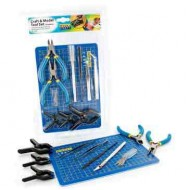 15 pc craft and model tool set -