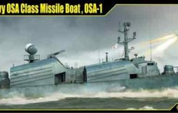 Russian Navy OSA Class Missile Boat , OSA-1 1/72