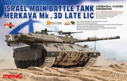 Israel Ma Battle Tank Merkava Mk.3D Late Lic  1/35