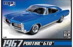 PONTIAC GTO 1967 1/25 (inkl.engine)