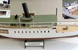 S/S MARIEFRED - legendary SE steamship (L93 cm)1/32