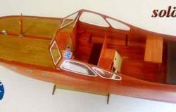 SOLÖ RUFF. classic motor yacht (L72 cm)   1/10