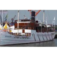 "BOHUSLÃ""N - classic passenger steamship  (L95 cm) 1/45"