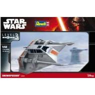 Star Wars Snowspeeder 1/52 (Glue-kit)