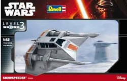 Star Wars Snowspeeder 1/52 (Glue-kit)
