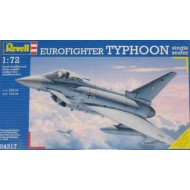 Eurofighter Typhoon single seater 1/72