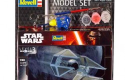 Modell Set Star Wars TIE Interceptor 1/90