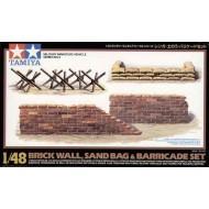 Brick Wall/Sand Bag/Barricade - 1/48