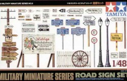 ROAD SIGN SET - 1/48