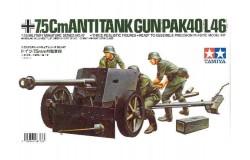 75 W/M ANTITANK GUN- 1/35