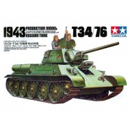 T34/76 RUSSISK TANK - 1/35