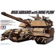 M1A1 Abrams w/Mine Plow 1/35