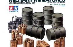 German Fuel Drum Set 1/35
