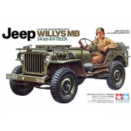 WILLYS JEEP MB 1/4 TON TRUCK - 1/35