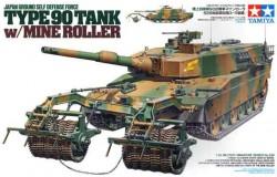 TYPE 90 TANK - MINE ROLLER - 1/35