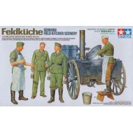 German Field Kitchen Scenery 1/35