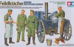 German Field Kitchen Scenery 1/35