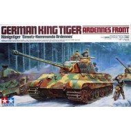 King Tiger Ardennes inkl 1 mc + 3 figures 1/35