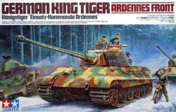King Tiger Ardennes inkl 1 mc + 3 figures 1/35