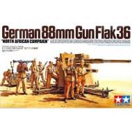 88MM GUN FLAK35 NORTH AFRICA - 1/35