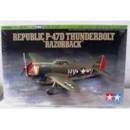 Tamiya P-47D Thunderbolt Razorback 1/72
