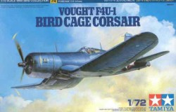 VOUGHT F4U-1 BIRD CAGE CORSAIR 1/72