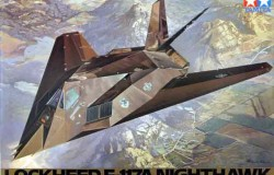 LOCKHEED F-117A NIGHTHAWK  - 1/48