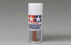 Tamiya Fine Surface Primer L (White) spray