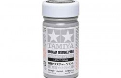 Tamiya Texture Paint-Pavement (Light Gray) 100ml Strukturfärg