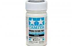 Tamiya Texture Paint-Snow (White) 100ml Strukturfärg