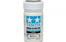 Tamiya Texture Paint-Snow (White) 100ml Strukturfärg