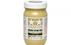 Tamiya Texture Paint-Soil (Light Sand) 250ml Strukturfärg