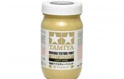 Tamiya Texture Paint-Soil (Light Sand) 250ml Strukturfärg