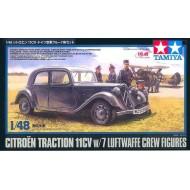 CITROEN 11CV W/LUFTWAFFE CREW 1/48