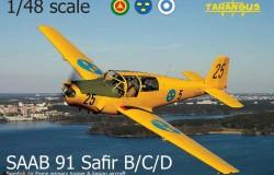 Saab 91 Safir 1/48