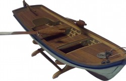 Sandal - Black Sea Trad. Fishing Boat (L35 cm) 1/12