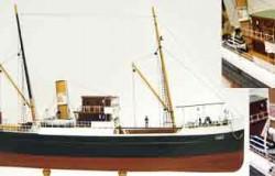 Bandirma - Steamfreighter (L 62 cm)1/87