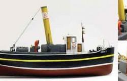 Liman II - Steam Tugboat (L 39 cm) 1/50