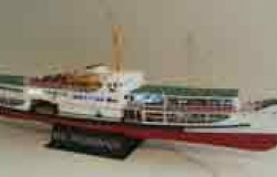 Pasabahce - Bosperous passenger ferry (w. LED light ) - (L 90 cm  1/87