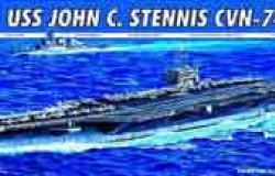 USS JOHN C. STENNIS CVN-74  1/700